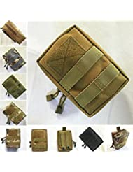 Bazaar Bolso al aire libre de nylon de pesca airsoft utilidad militar Tactical chaleco bolso de la bolsa de la cintura para la caza al aire libre