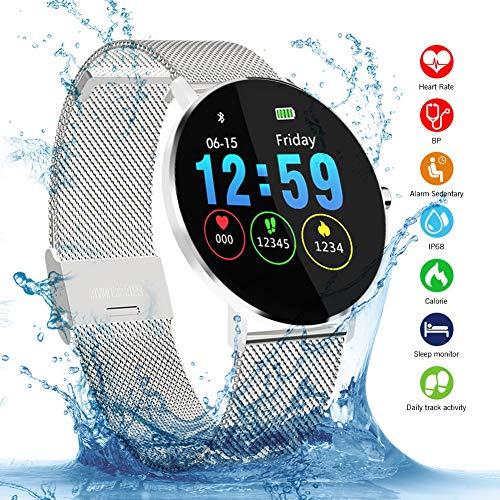 Smartwatch, Kivors IP68 Impermeable Reloj Inteligente