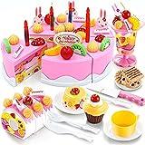 Kind Kleinkind Geburtstagstorte Kinder Rollenspiele Kaufläden Zubehör Küchenspielzeug Kreatives Spielzeug Geschenk zum Geburtstag Weihnachten Ostern