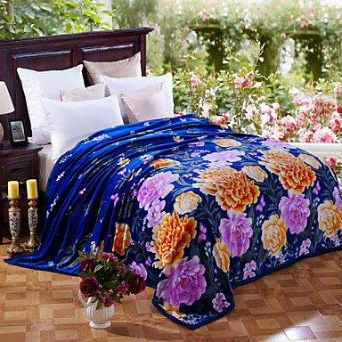 GAW Cashmere couvertures des draps de flanelle épaisse couche plus épaisse en hiver w79\