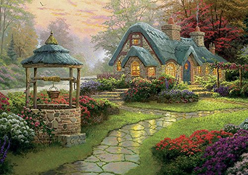 Thomas Kinkade make a wish poster, A0 (1,189 X (Thomas Kinkade Artwork)