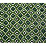 """Pato geométrica tapicería Poli lienzo arte de la tela de costura 56 """"de ancho por el Metro"""