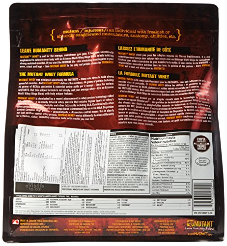 Mutant Whey Chocolate, 1er Pack (1 x 2.27 kg) - 4