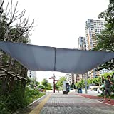 Yosoo Vela ombra da esterni ,Tenda ombreggiante,Tessuto ombreggiante quadrato, per feste in giardino,3m*4m