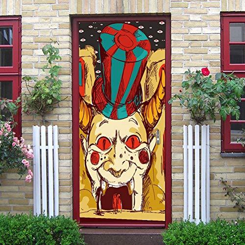 VIOYO Etiqueta engomada de Halloween Decoración de la casa embrujada Cubierta de la puerta de la ventana Etiqueta Zombie Mano 78X30 Pulgadas adorno Pared pegada
