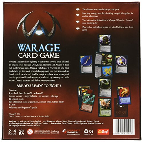 District Games warage Kartenspiel