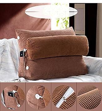 CX-PILLOW divani Triangolo cuscini comodino letto con cuscino ...