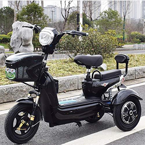 Adulto Scooter móvil eléctrico de Tres Ruedas Scooter Verde Bicicleta ecológica 48V20A