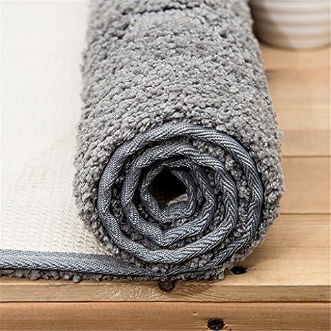 Qianmo-Carpet matratze Matratze matratze Matratze Matratzen Matratzen Matratzen Matratzen Küche Badezimmer Matten Kissen Umwelt Matten antibakterielle Saugkissen Style Grau Lace 50cmx80cm