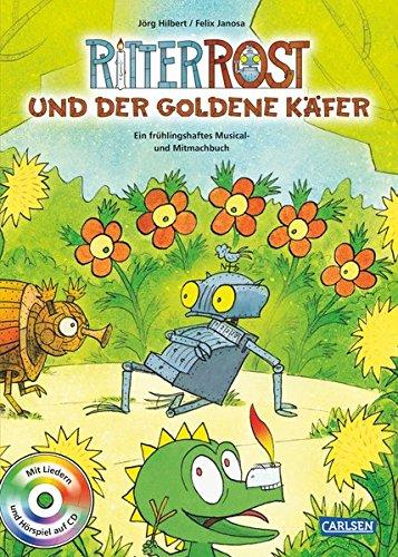 ritter-rost-ritter-rost-und-der-goldene-kafer-buch-mit-cd