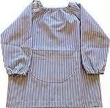 Baby infantil rayas blancas y azules Unikids, talla 3