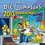 Simpsons Wandkalender 2013: The Simpsons Spaßkalender 2013