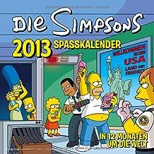 Simpsons Wandkalender 2013: The Simpsons Spaßkalender 2013