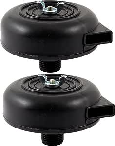 Kunststoff Kompressor Schalldaempfer Gewinde Abluftfilter Luftverdichter Filter