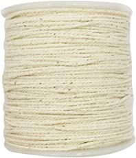 Non-brand Multi-Purpose Natural Twisted Cotton Rope Cotton Braided Rope DIY Knitting Cord