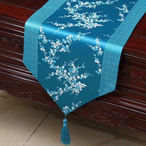 Corridore semplice tavolo da giardino/ tovaglia/ lungo tavolo/letto corridore/tovaglia/panno che copre/striscia decorativa/ tavolo/tovaglia-N 33x230cm(13x91inch)