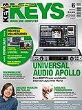 Keys 6 2012 - Universal Audio Apollo - Presonus Studio One Software zum Download - Personal Samples - Free Loops - Audiobeispiele