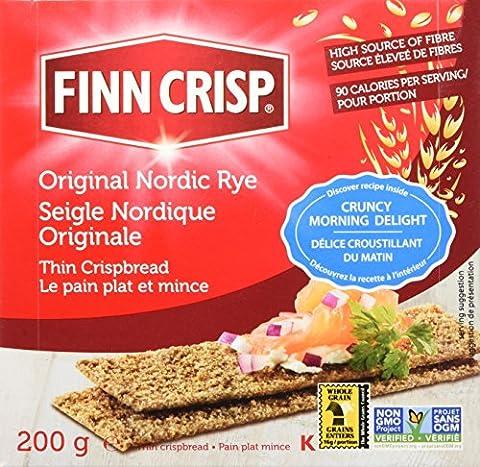 Finn Crisp, Thin Rye Crispbread, Original, 7 oz (200 g)