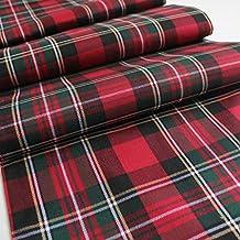 Sorrento promotion100% Polyester Plaid Écossais Thème Chemin ... 356e387034a