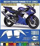 Pimastickerslab 0323 Autocollants Yamaha YZF-R1 (2002), d'occasion  Livré partout en France