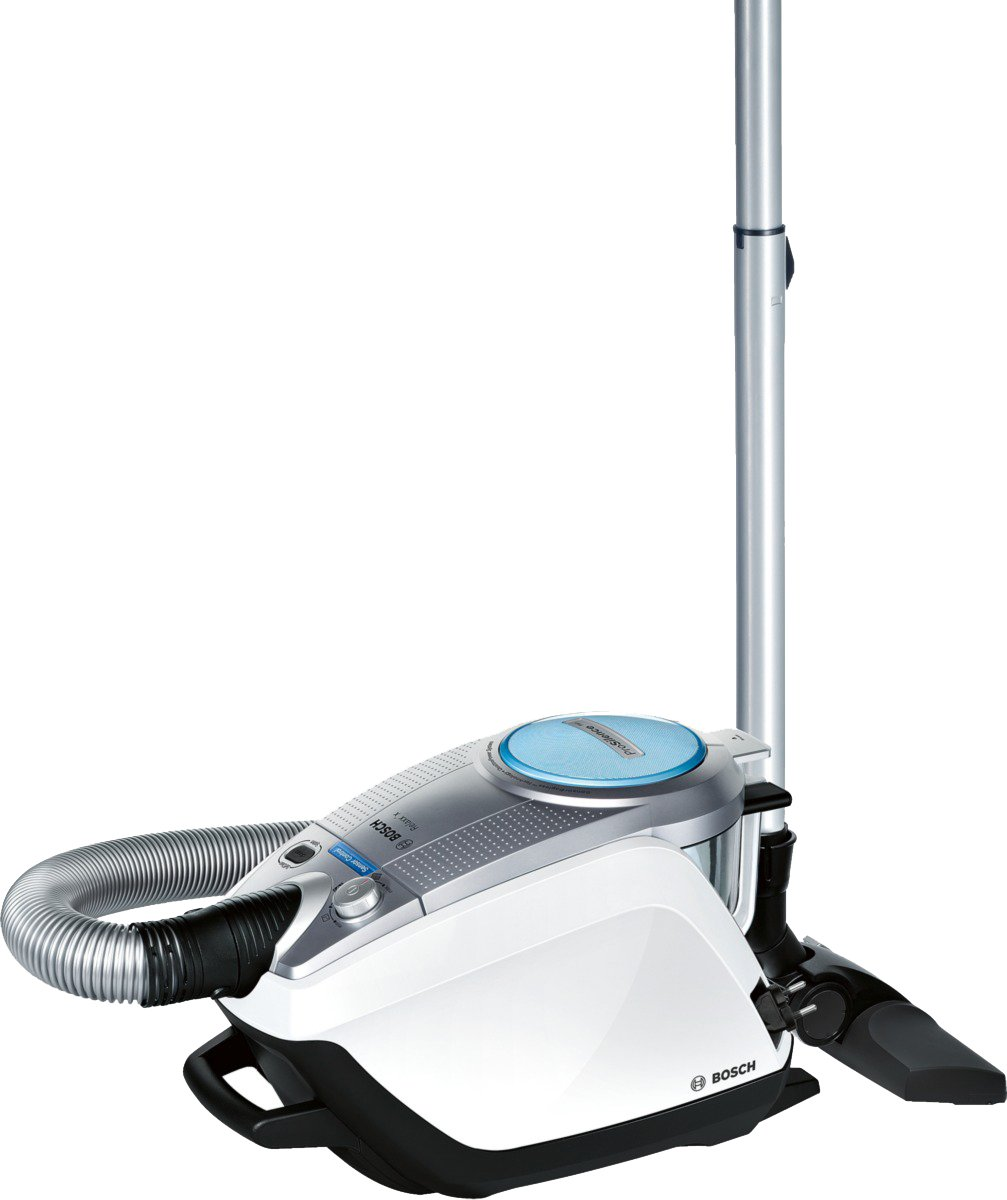 Bosch Staubsauger beutellos Relaxx'x ProSilence Plus BGS5331, ideal für Allergiker, Hygiene-Filter, Bodendüse für…