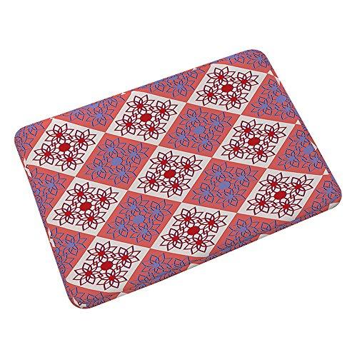 HUATU Flanell Teppich Rutschfeste Fußmatte 055