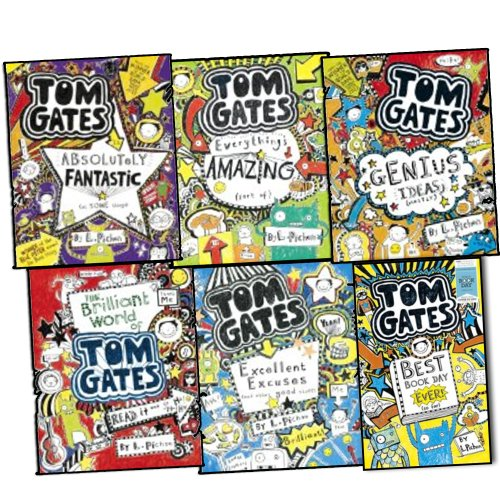 liz-pichon-tom-gates-6-books-collection-set-pack-rrp-3595-genius-ideas-eve