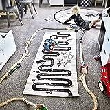 Autorennen Abenteuer Spiele Matte für Jungen Spielmatten Baumwolle Leinwand Spiele Teppich Raumdekoration Kinder Kindergarten Bettwäsche Spielzeug Kinder Geschenk
