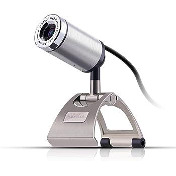 Webcam 720P, PAPALOOK PA150 Cámara web Alta Definición con