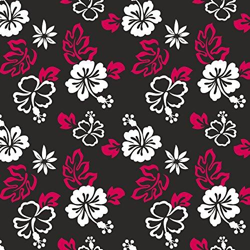 Apple iPhone 5s Housse Étui Protection Coque Fleurs Fleurs Motif Étui en cuir marron
