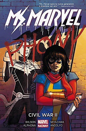 scaricare ebook gratis Civil War II. Ms. Marvel: 6 PDF Epub
