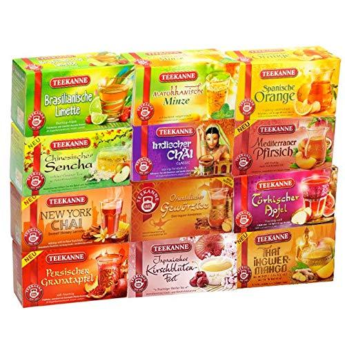 Teekanne Ländertee-Probierset - 12 verschiedene Sorten