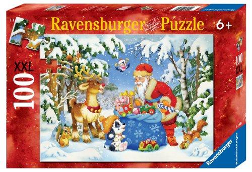 Preisvergleich Produktbild Ravensburger–10654–Puzzle Die Dunstabzugshaube DES Weihnachtsmanns–100-teilig