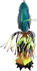 Vodool Tassels Frog Fishing Lures Artificial Swim Bait Claw Hooks Fishing Tackle