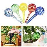 UxradG Ball-Shape Automatische Blume Sprayer, Creative Glas Ball Typ Drip Kleine Pflanzen Blumen Selbst Automatischer Bewässerung bewässern Gerät Spritze Gartenbedarf Gerät Tools, Grün