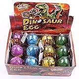 HXSS Emulational Dinosaur Dragon Egg Hatch-crescere grande grande pacchetto di dimensioni di 12 pezzi immagine