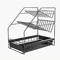 Tiroirs coulissants sous l'évier,panier coulissant à 3 niveaux de cuisine sous évier,organisateur d'armoire empilable…