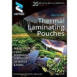Fogli di carta laminata ultra lucida, per plastificatrici, formato A3, 250 micron (125 + 125 micron)