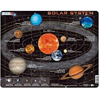 Larsen SS1 Solar System, Jigsaw Puzzle with 70 Pieces, English Edition