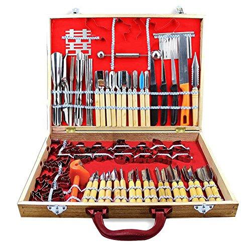 Rokoo 80 teile / satz Schnitzwerkzeuge Decorators Obst Gemüse Garnieren Schneiden Gravur Schäler Cutters Werkzeug-sets