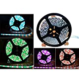 Eastlion 16.4FT 5M 5050 Non-waterproof 300 LED RGBW Warm White Color Changing Flexible LED Strip Light