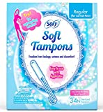 Best Tampons - Sofy Soft Tampons - 34 Pieces (Regular) Review