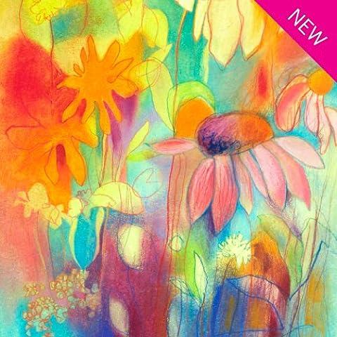 8 Carte de voeux Papeterie Notecards - Fleurs sauvages -