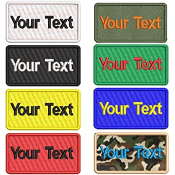 00920f411 Custom Embroidery Name Patches 4
