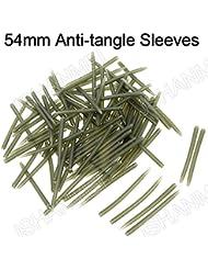 Jshanmei® 2 Tailles Anti Tangle Sleeve Accessoires Bas de Ligne pour Pêche Carpe