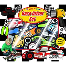 Let's Pretend Race Driver Set