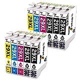 Cartucho de Tinta Compatible Epson 29 29XL de 7Magic para Impresora Epson Expression Home XP-235 XP-245 XP-247 XP-332 XP-335 XP-342 XP-345 XP-442 XP-432 XP-435 XP-445 (5 Negro , 2 Cian, 2 Magenta, 2 Amarillo)