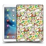 Offizielle Micklyn Le Feuvre Meerschweinchen Und Gänseblümchen Und Aquarell Muster 2 Ruckseite Hülle für iPad Pro 12.9 (2015)