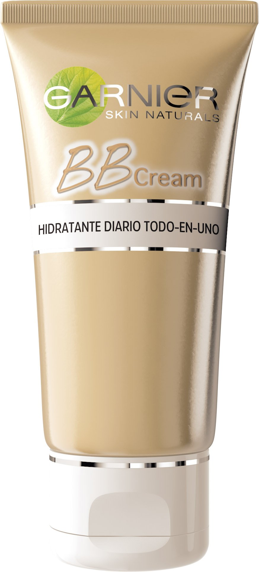 Garnier Skin Active – BB Cream Clásica, Crema Hidratante Todo en 1 para Pieles Normales, SPF15 con Vitamina C, Tono Medio, 50 ml