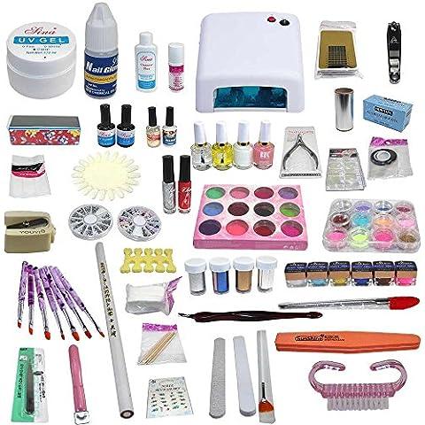 Nail Art Starter Set kit nail art Salone di bellezza Ricostruzione Unghie Numero 1